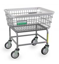100E-ANTI Antimicrobial Laundry Cart