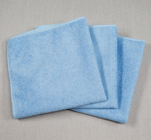 12x12 Microfiber Cloth 30g Porcelain Blue Towels