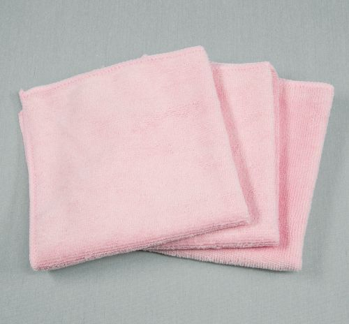 12x12 Microfiber Cloth 30g Pink Towels