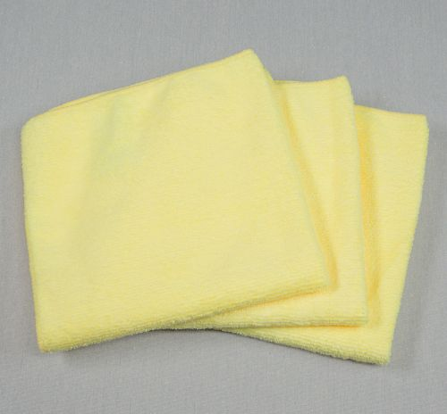 12x12 Microfiber Cloth 30g Yellow Towels