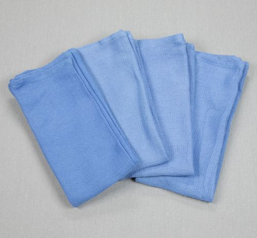 14x24 Huck Towels Blue Group