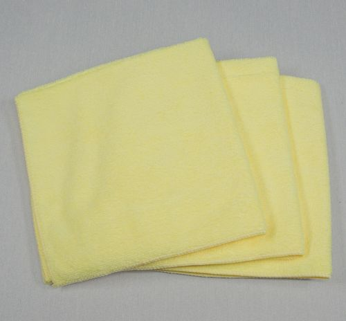 16x16 Microfiber Cloth 35g Yellow Towels