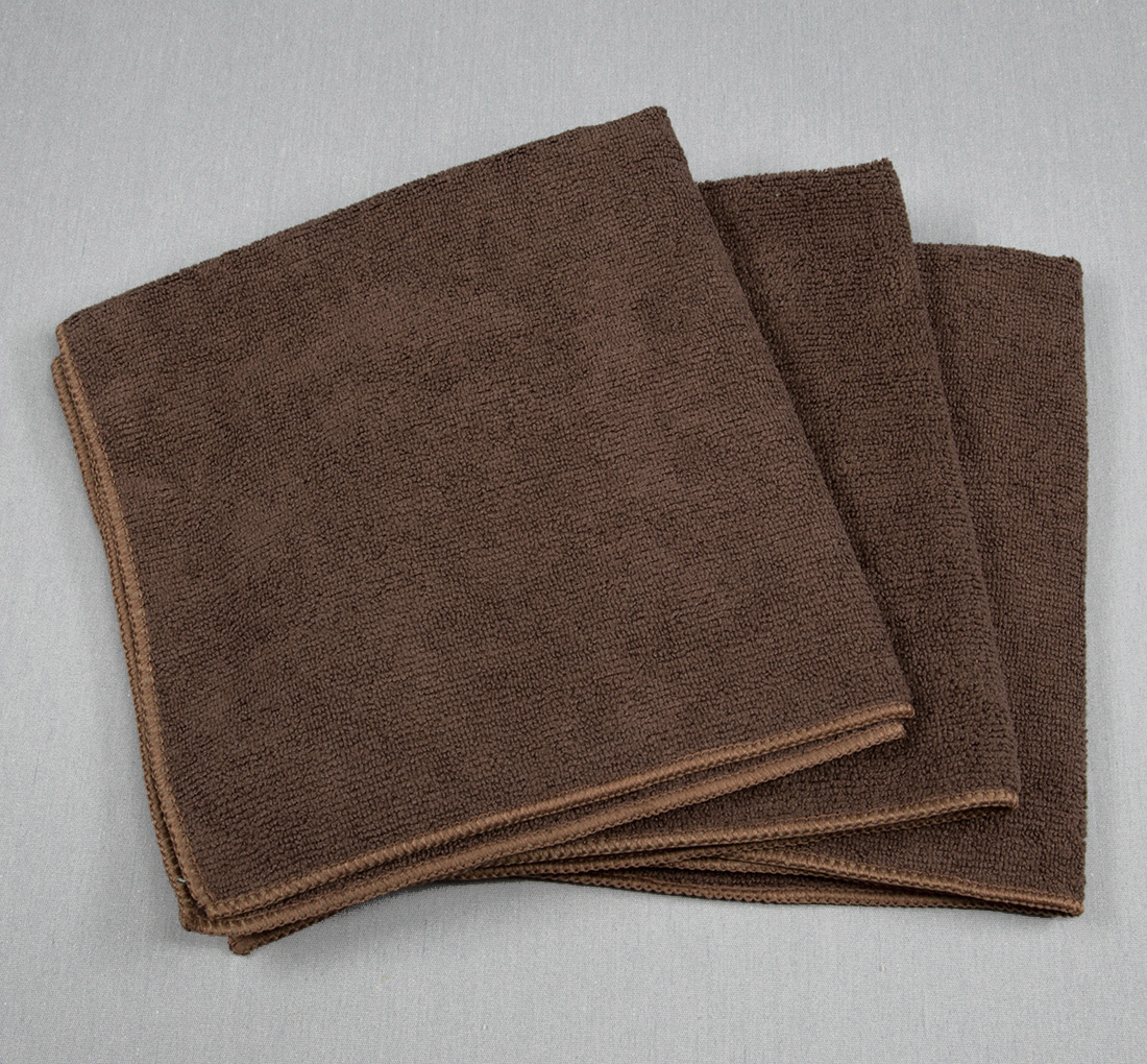 16x16 Microfiber Cloth 45g Brown