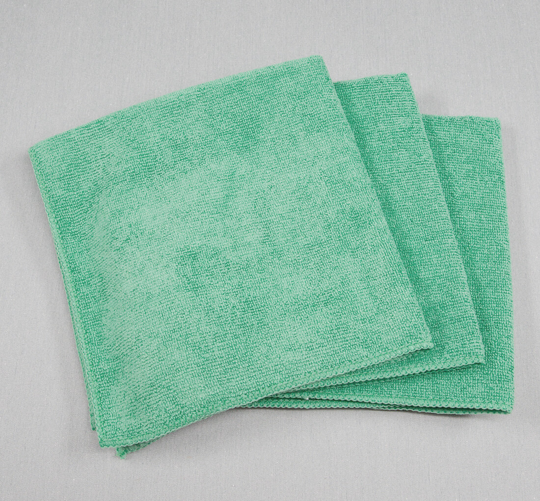16x16 Microfiber Cloth 45g Green