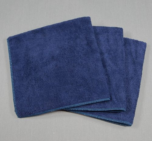 16x16 Microfiber Cloth 45g Navy