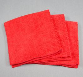 16x16 Microfiber Cloth 45g Red