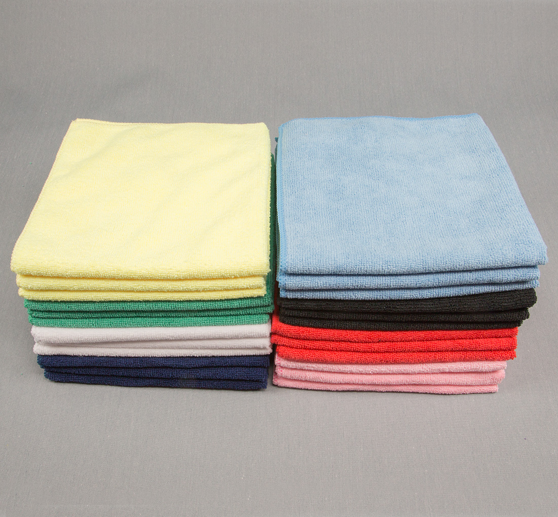 16x16 Microfiber Cloth 45g Color Towels