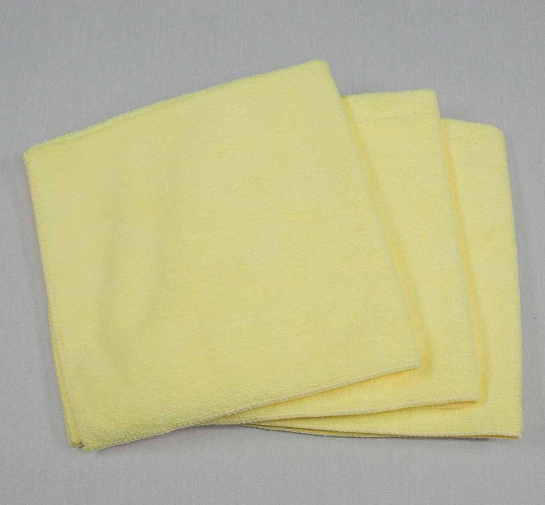 16x16 Microfiber Cloth 45g Yellow
