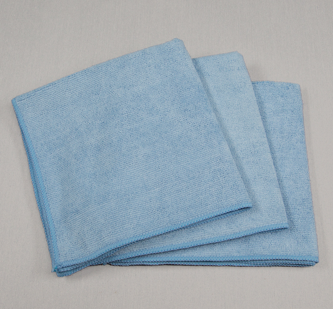 16x16 Microfiber Cloth 49g Porcelain Blue