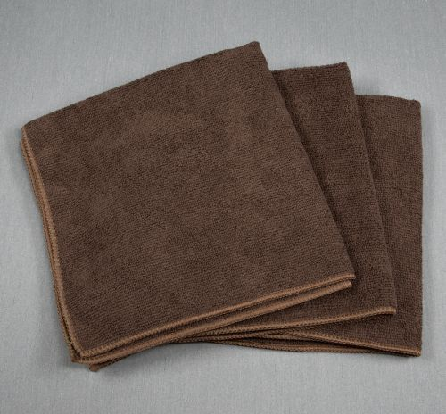 16x16 Microfiber Cloth 49g Brown