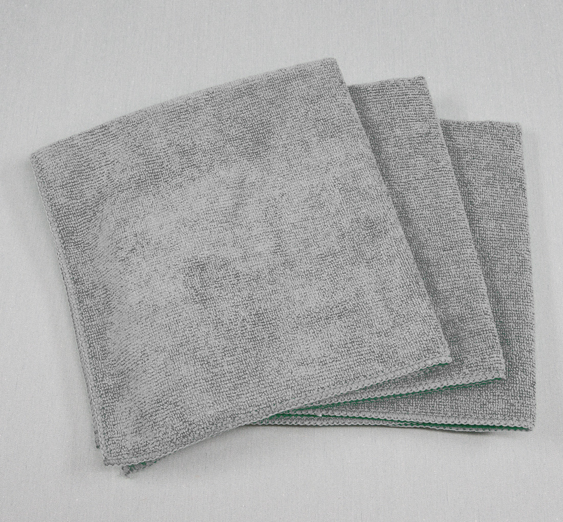 16x16 Microfiber Cloth 49g Grey
