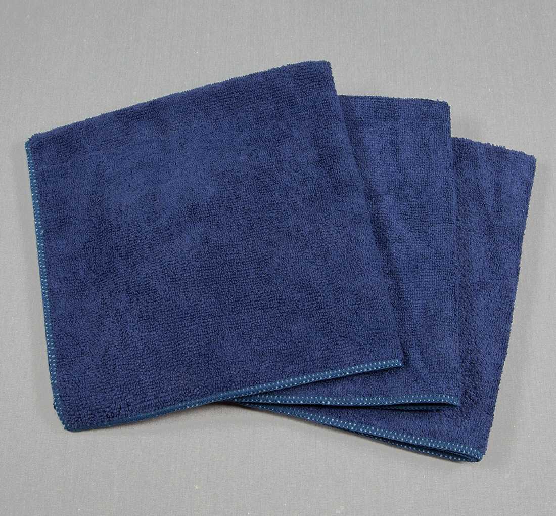 16x16 Microfiber Cloth 49g Navy
