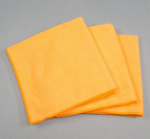 16x16 Microfiber Cloth 49g Orange