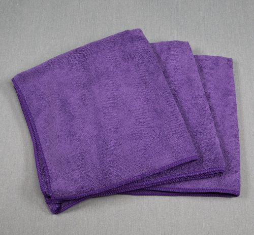 16x16 Microfiber Cloth 49g Purple