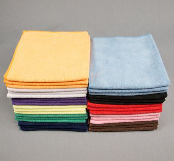 16x16 Microfiber Cloth 49g Color Towels