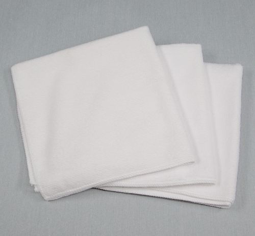 16x16 Microfiber Cloth 49g White
