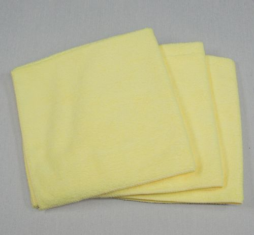 16x16 Microfiber Cloth 49g Yellow