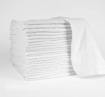 White Bar Mop Towel 30oz