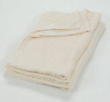 16x27 Color Hand Towel Ivory