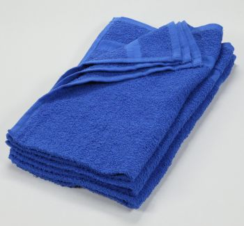16x27 Color Hand Towel Royal Blue