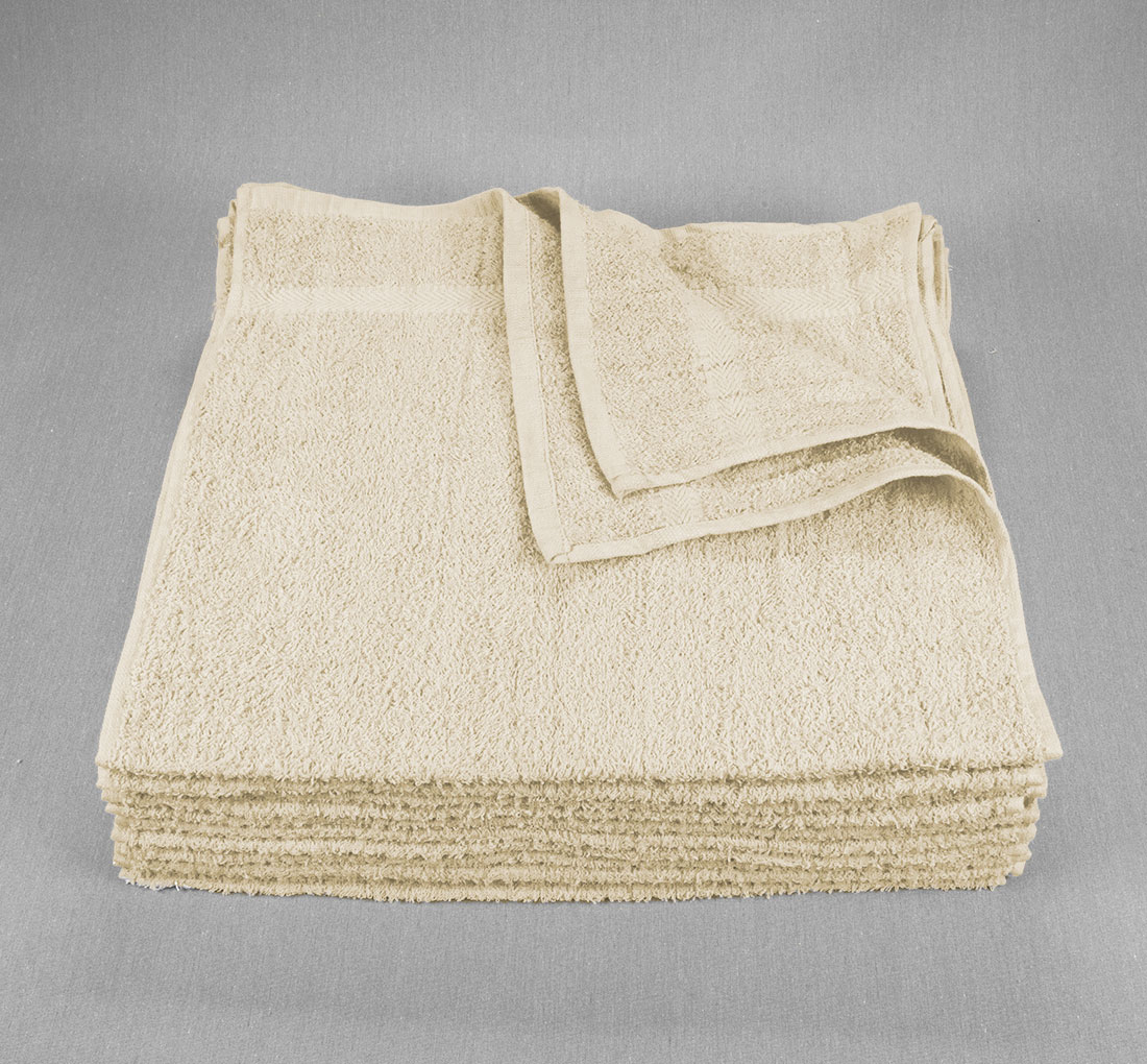 16x27 Ivory Closeout Towels