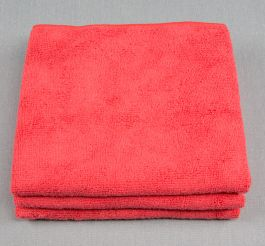 16x27 Microfiber Cloth 80g Red