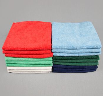 16x27 Microfiber 80g Color Towels