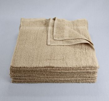 16x27 Tan Closeout Towels