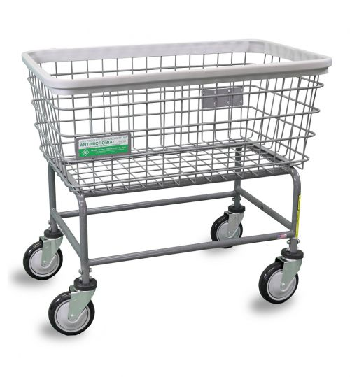 R&B Wire 200FANTI Antimicrobial Large Capacity Laundry Cart