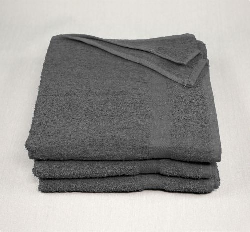 22x44 Charcoal Gray Towels 6.25