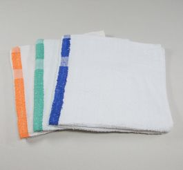22 x 44 Color Stripe Bath Pool Gym Towels