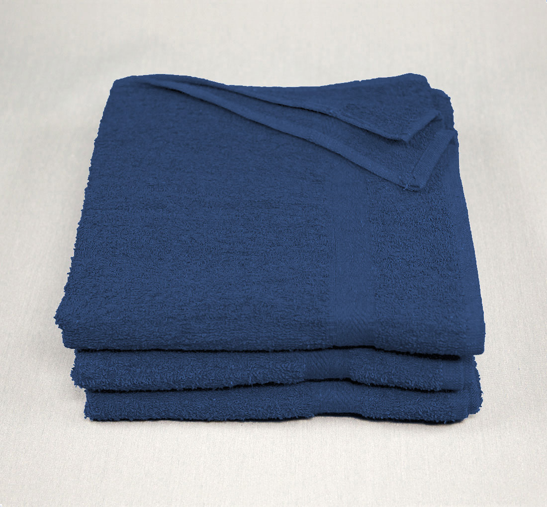 22x44 Navy Blue Towels 6.25
