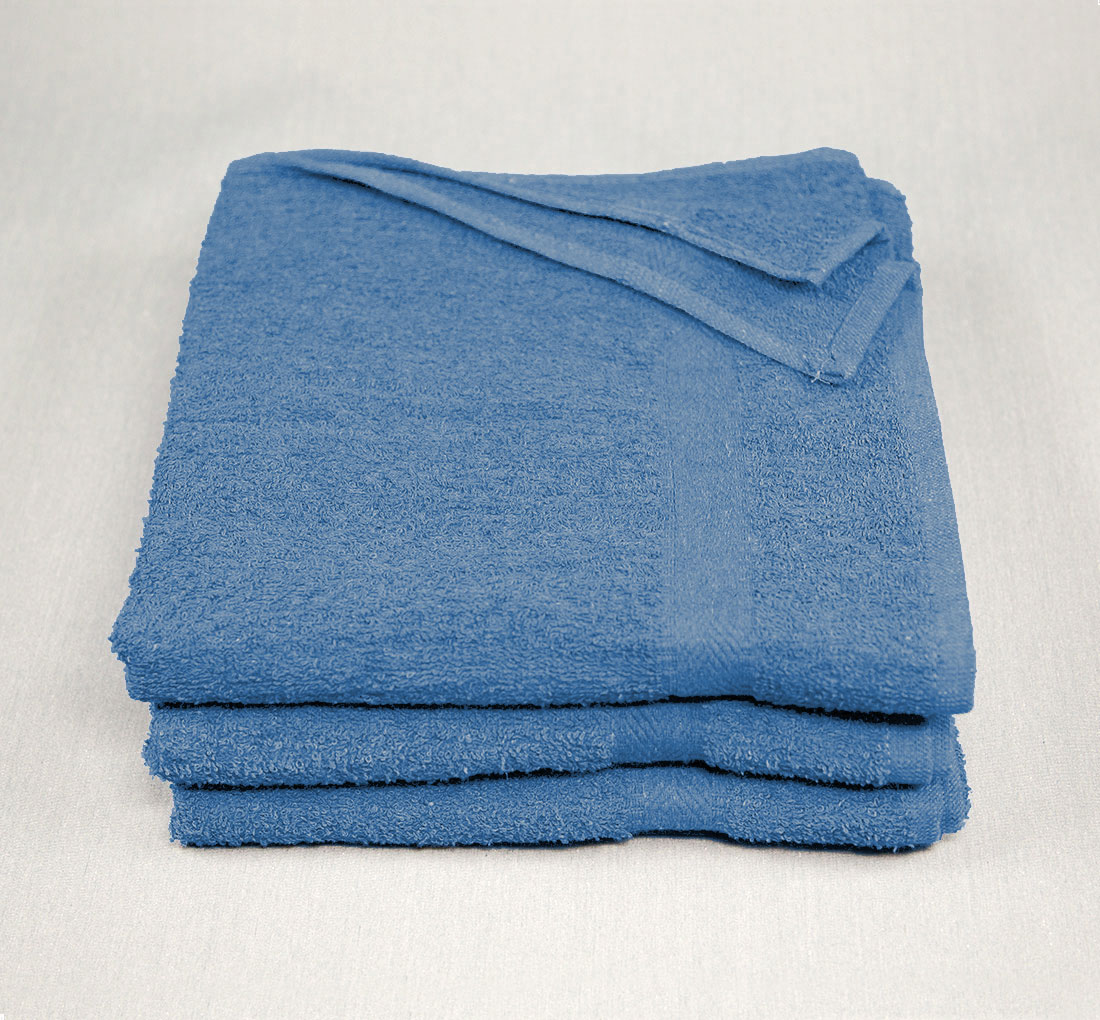 Gym Towels By GYM GUY Pack of Two Black /& Navy