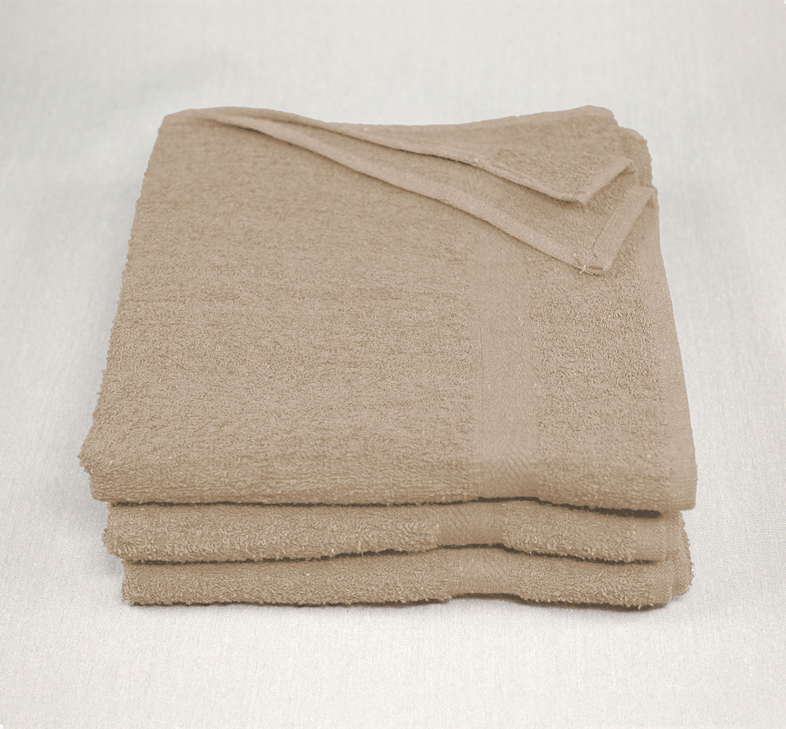 22x44 Tan Towels 6.25