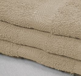 22x44 Tan Towel 6.25 Border