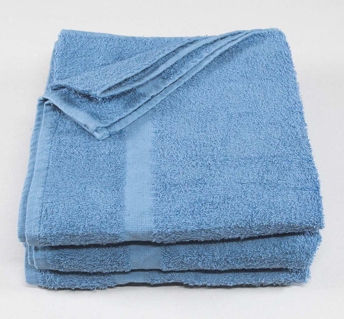 24x48 Porcelain Blue Economy Bath Towels