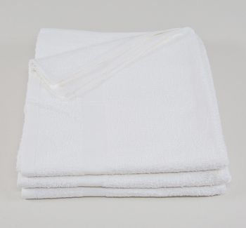 22x44 Premium White Bath Towel