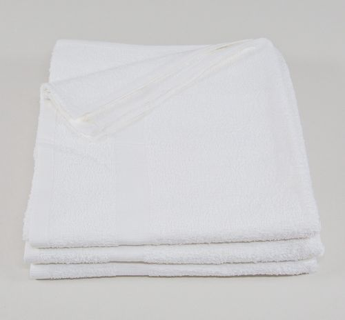 24x48 White Economy Bath Towels
