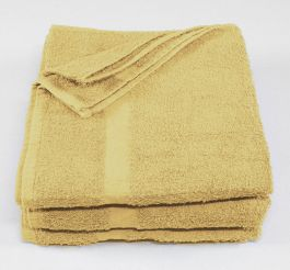24x48 Yellow Economy Bath Towels