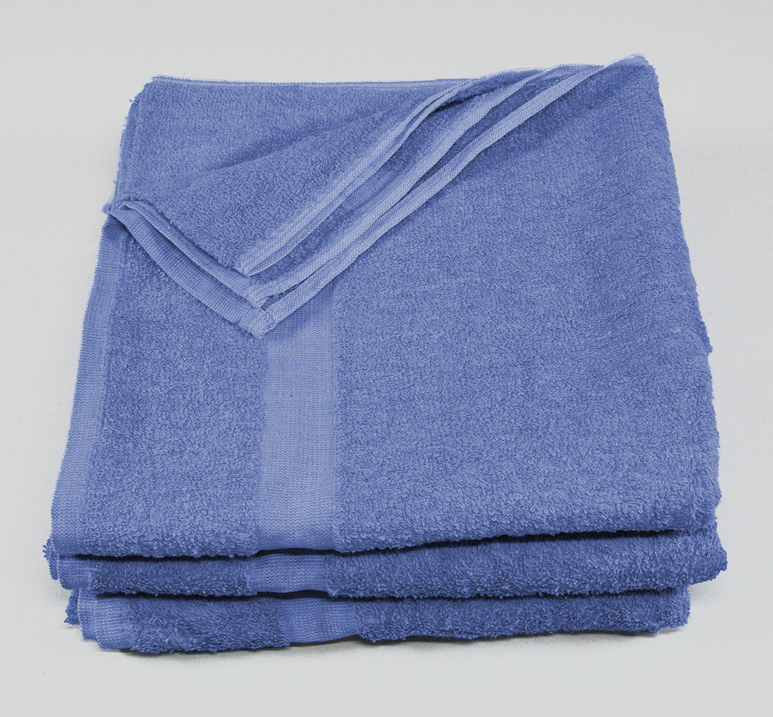 24x50 Towels Azure Blue
