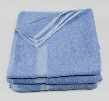 24x50 Towels Fibertone Porcelain Blue