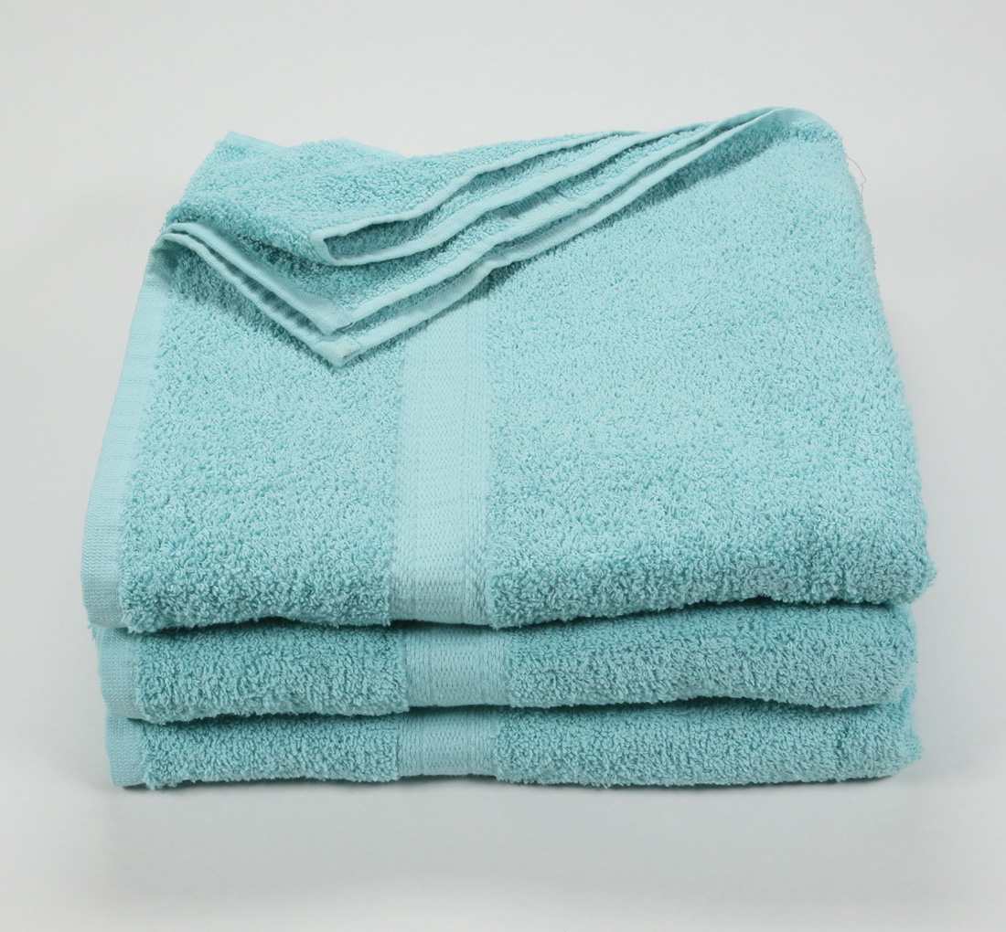 27x52 Color Towel Aqua Marine