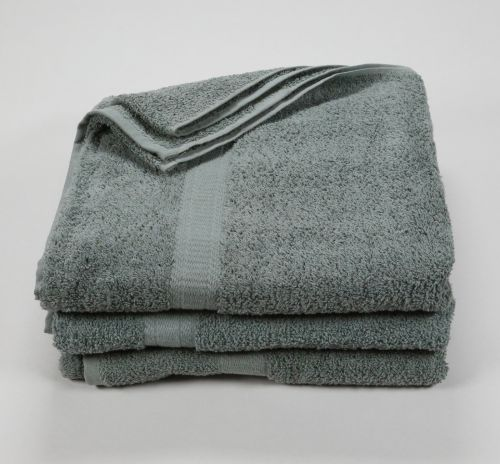 27x52 Color Towel Ash Gray