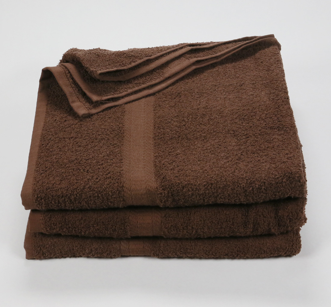 27x52 Color Towel Brown