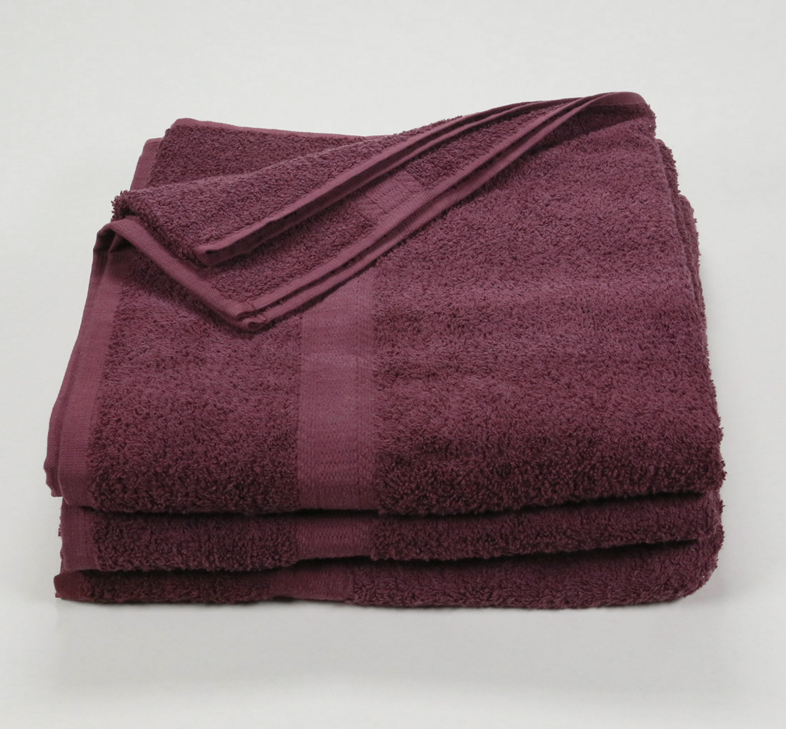 27x52 Color Towel Maroon