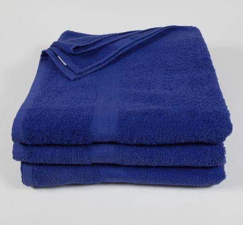 27x52 Color Towel Navy Blue