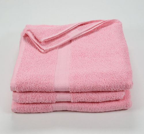 27x52 Color Towel Pink