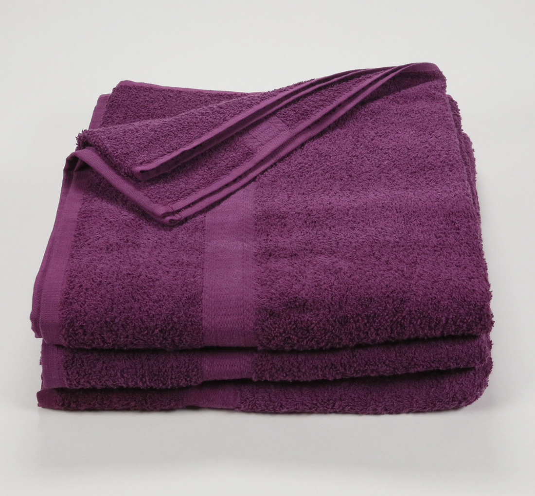 27x52 Color Towel Plum