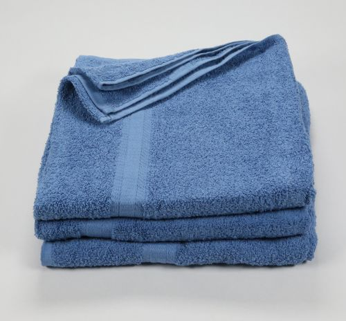 27x52 Color Towel Porcelain Blue