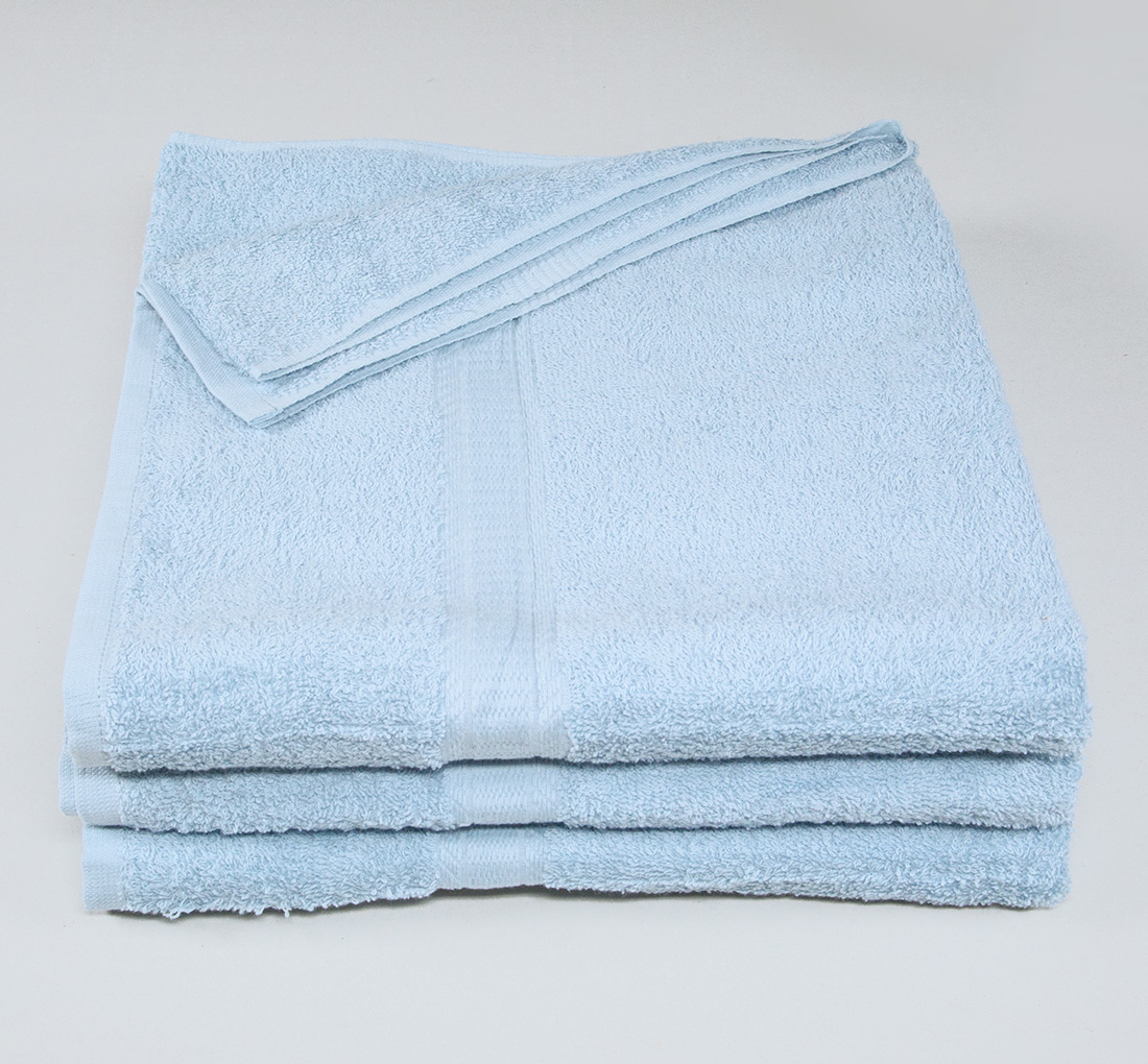 27x52 Color Towel Sky Blue